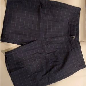 Black/gray nautica dress shorts
